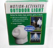 Battery Powered Motion Light