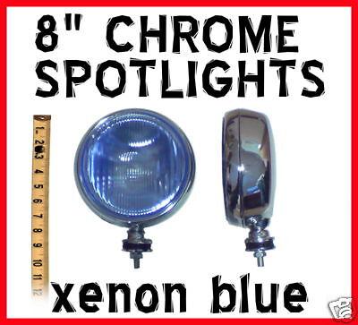 8 XENON Slimline Narrow Spotlights ford ranger all