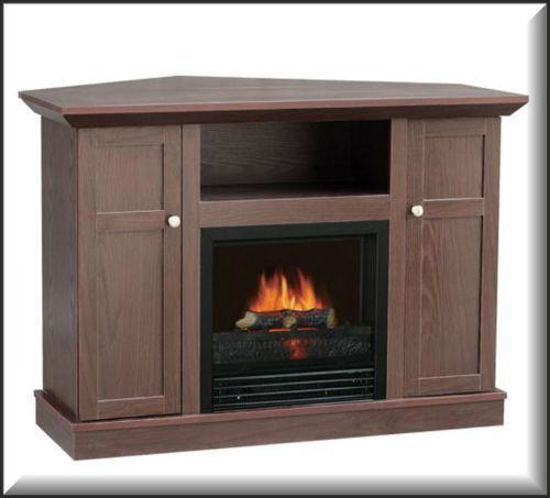 Corner Fireplace Tv Stand Ebay