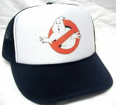 Ghostbusters Costume Hat  Easy & Quick Halloween low cost Adjustable NEW - Costume Halloween Easy