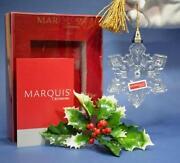Waterford Snowflake Ornament