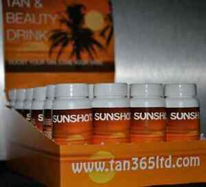 Sunshot Tanning and Beauty Drinks Sun Tan Shot --- 24 x 60ml bottles Exp. 05/19