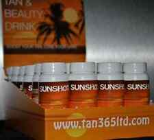 Sunshot Tanning and Beauty Drinks Sun Tan Shot --- 24 x 60ml bottles Exp. 08/18