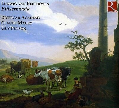 Ricercar Academy, Ludwig van Beethoven - Music for Winds [New CD] Digipack Packa