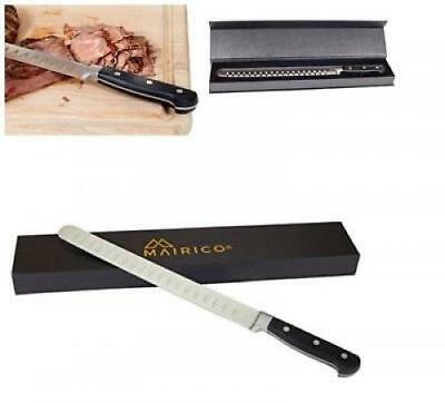 Brisket Knife Slicing Beef Bbq Carving Best Meat Slicer Long Smoked Salmon
