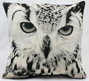 Vintage Owl Cushion