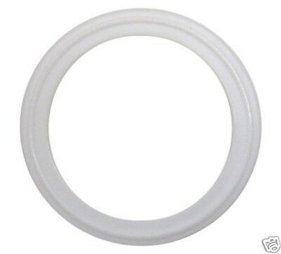 Tri Clamp Sanitary Gaskets 2 White Ptfe Lot Of 10