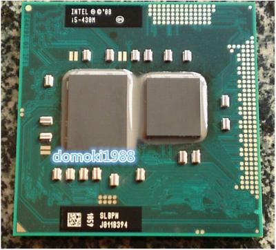 Intel Core I5 430M 450M 460M 480M 520M 540M 560M 580M HM55 Socket G1 CPU