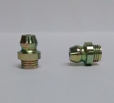 "10 Grease Nipple Fitting 5//16/"" x 22 BSF Straight UK made"