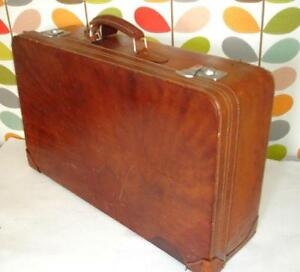 Leather Suitcase | eBay