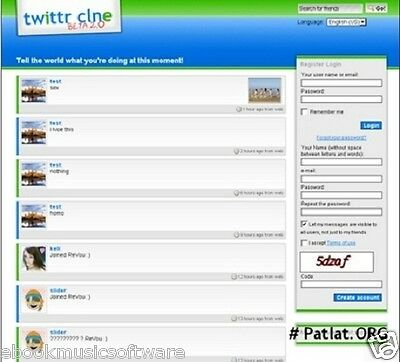 Websites Twitter Clone Php Script