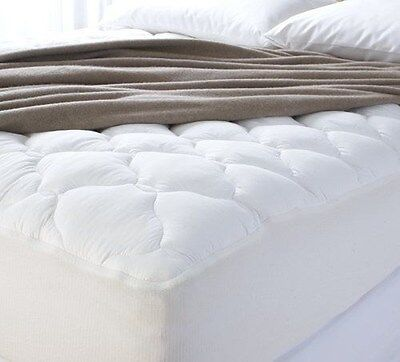 Pillow Top Cal King - Mattress Pad Cal KING Pillow Top Bed Topper Thick Comfort Pain Relief $299