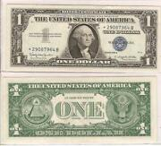 1957 Blue Seal Dollar Bill