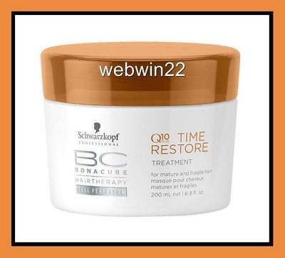 SCHWARZKOPF BC Q10 Time Restore Treatment 200ml mask masque
