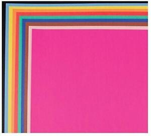 NEW School Smart 1485755 Railroad Board, 6-ply Thickness, 22 x 28, Assorted Color (Pack of 25) Condtion: New, 1 X P...