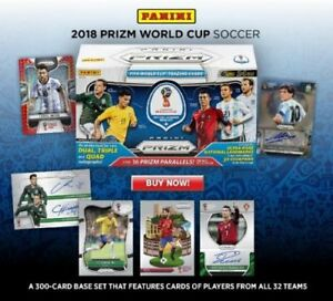 ebd8c47ad67 2018 Panini PRIZM World Cup Prizm Soccer Packs   Boxes