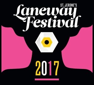 1 x GA Ticket - ST JEROME'S LANEWAY FESTIVAL, MELBOURNE Torquay Surf Coast Preview