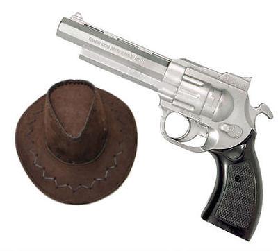 Rick Grimes Sheriff Fancy Dress 2 Piece Kit Gun & Hat Western Walking Dead TV