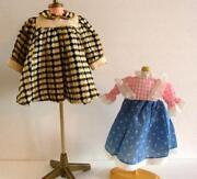 Antique Doll Clothes Lot