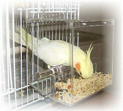 "TIDY SEED SMALL FEEDER - THE ORIGINAL ""NO-MESS"" BIRD FEEDER!"