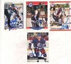 Autograph Winnipeg Jets Hockey Trading Cards Lot