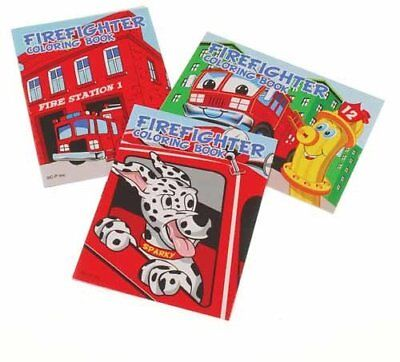 Fireman Coloring Book (Firefighter Coloring Books)