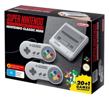 Super Nintendo mini snes brand new never opened