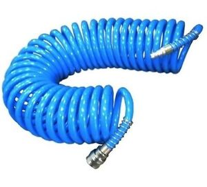 Spiralschlauch Druckluftschlauch Luftschlauch Schlauch Luft 5x8mm 15m
