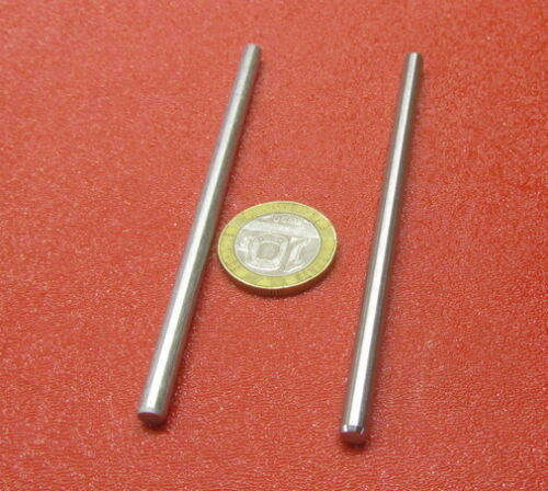 """416 Stainless Steel Dowel Pins 3/16"""" Dia x 4.00"""" Length, 2 Pieces"""