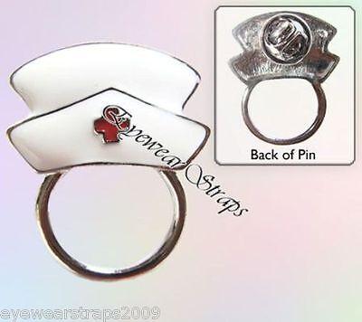NEW Glasses / Spectacle Nurse Hospital Retainer Hanger Brooch Pin Holder