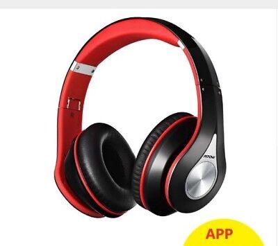 Mpow Best 059 Headphones Wireless Bluetooth 4.0 Headphone Built-in Mic Soft (Best Computer Mics)