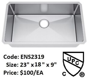 ►►► Limited-Time Offer --- Hand-made Kitchen Sinks - $100