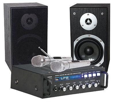 LTC Karaoke Sound System STAR4-MKII Party DJ inc 2 x Mic Bluetooth USB (Karaoke-sound-system)