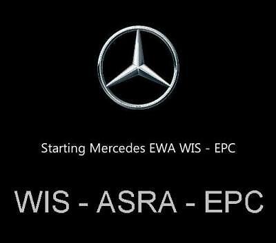 Mercedes Benz & AMG Reparaturanleitung WIS ASRA EPC 2018 auf DVD