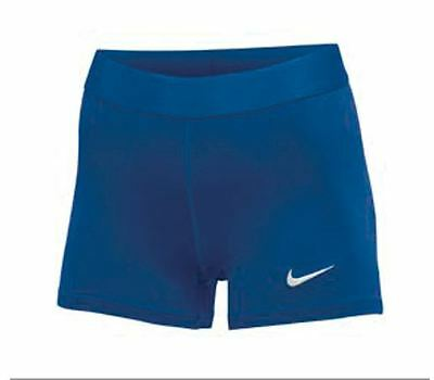 New Nike Power Race Day Short Compression Tight Women's Medium Blue 835964