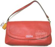 Coach Leather Large Flap Wristlet