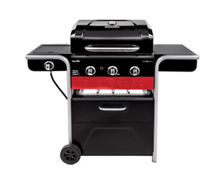 Gas and Coal Hybrid Barbecue