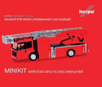 Herpa 13345 Bausatz MB PLHzg Schenker Altena 1:87 H0