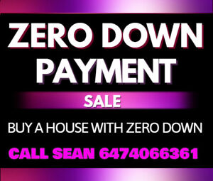 ** Zero Downpayment and RENT to OWN program **