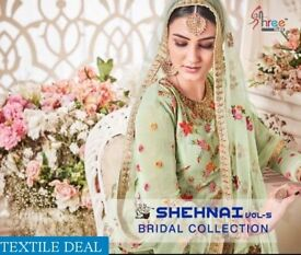 SHREE FAB SHEHNAI BRIDAL VOL-5 COLLECTION WHOLESALE INDIAN DRESSES
