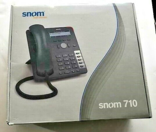 SNOM 710 VOIP PHONE - BRAND NEW IN THE BOX
