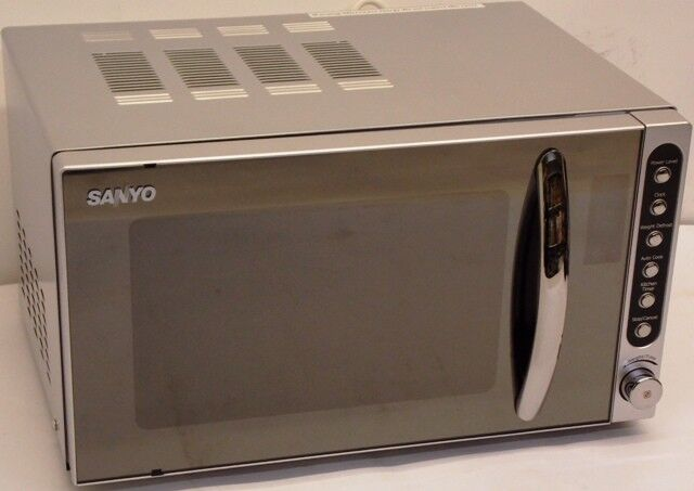 Sanyo Em S2298v Microwave Oven Compact Size 20lt 800w Maff E