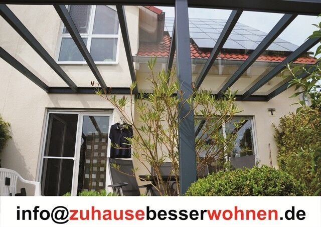 alu terrassendach carport aluminium terrassen berdachung veranda vsg glas 6x3 5 eur. Black Bedroom Furniture Sets. Home Design Ideas
