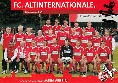 Wolfgang Weber , Wembley WM 1966 1.FC.Köln original signiert/signed !!!