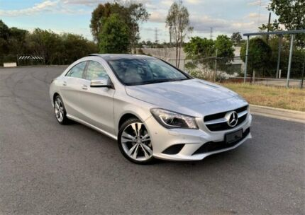 2014 Mercedes-Benz CLA200 CDI C117 DCT Silver 7 Speed Sports Automatic Dual Clutch Coupe Darra Brisbane South West Preview