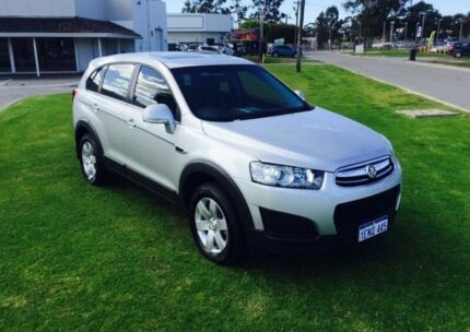2014 Holden Captiva CG MY14 7 LS (FWD) Silver 6 Speed Automatic Wagon