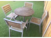 Garden patio set (delivery available)