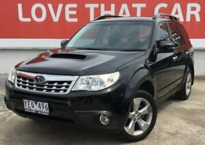 2011 Subaru Forester Black Sports Automatic Wagon Heidelberg Heights Banyule Area Preview