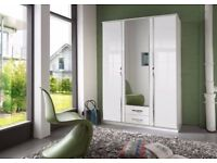 Beautiful New Design 3 Door wardrobe in different colors Fast delivery in all over london