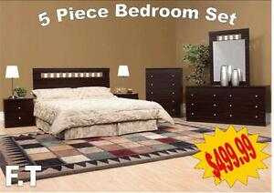 5 pc bedroom set starts from